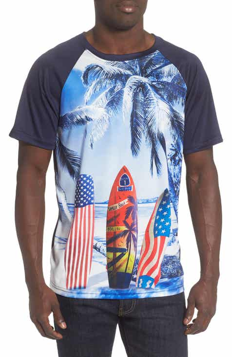 Trunks Surf & Swim Co. Print Swim T-Shirt