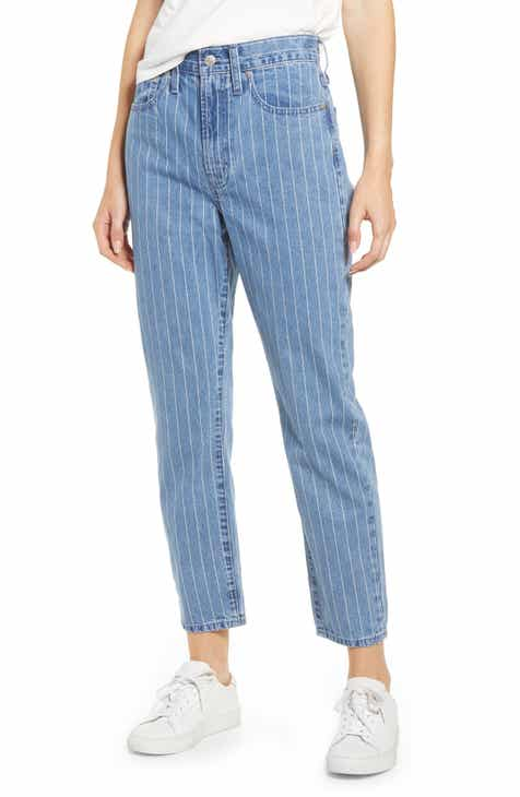 e8ea522b2 Madewell The Perfect Vintage Crop Jeans (Pinstripe Denim)
