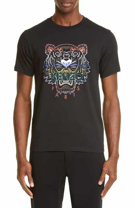 b4c2555c1d KENZO Gradient Tiger Graphic T-Shirt