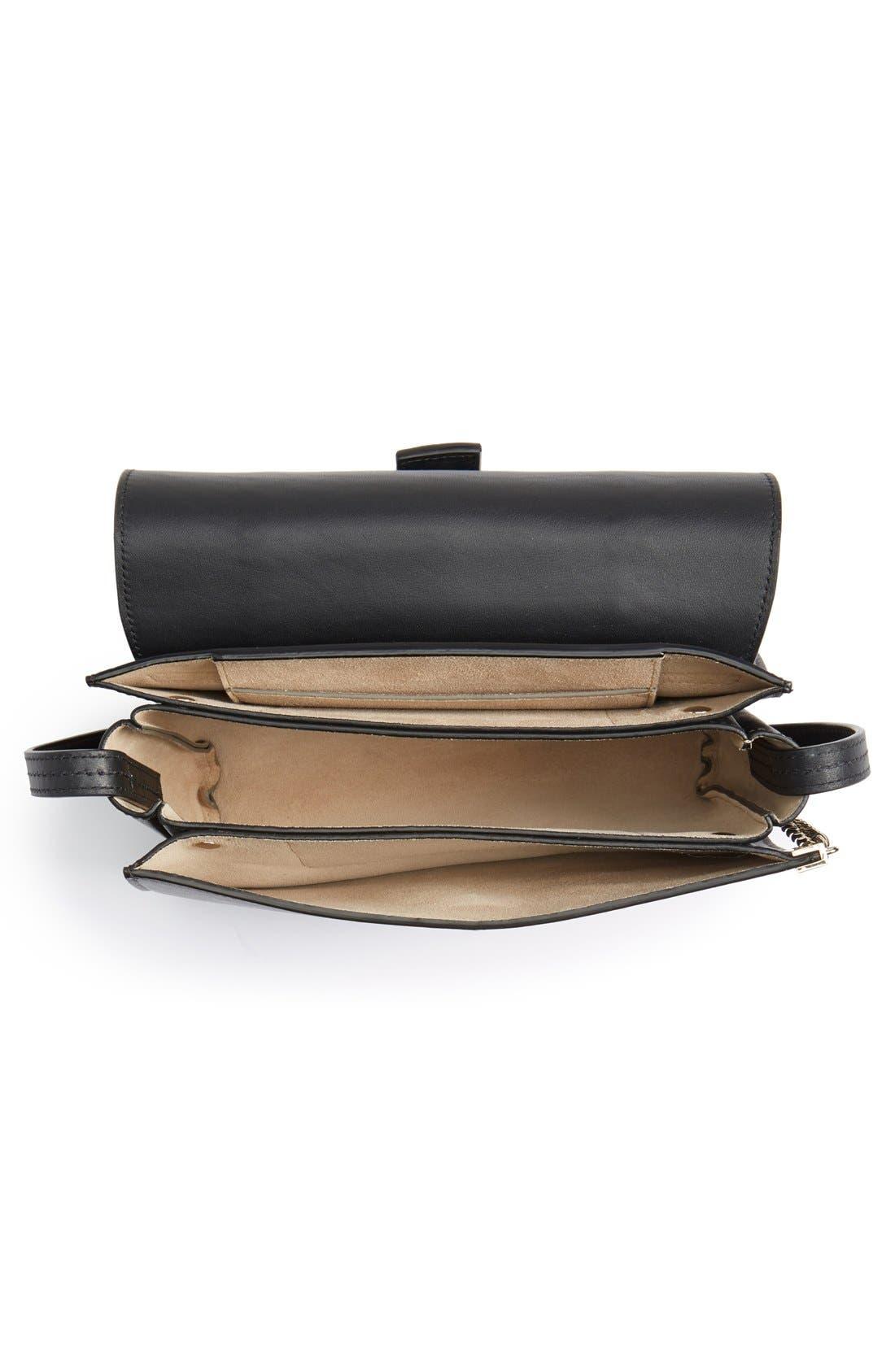 Alternate Image 4  - Chloé 'Small Faye' Genuine Python & Leather Shoulder Bag