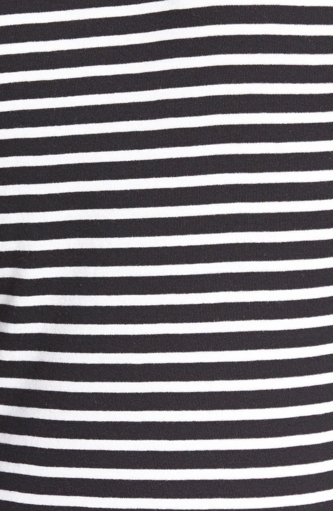 Alternate Image 3  - Caslon® Long Sleeve Scoop Neck Cotton Tee (Regular & Petite)