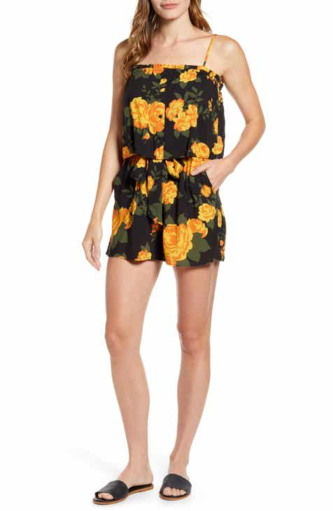6ce291a81550 Gibson x Hot Summer Nights Two Peas Layered Camisole Romper (Regular &  Petite) (Nordstrom Exclusive)