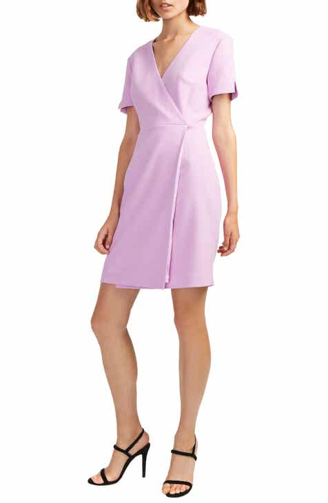 d5a6dbae0b8 French Connection Whisper Faux Wrap Dress