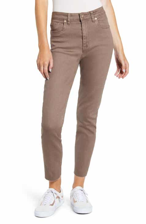 STS Blue Alicia High Waist Ankle Mom Jeans (Cocoa)