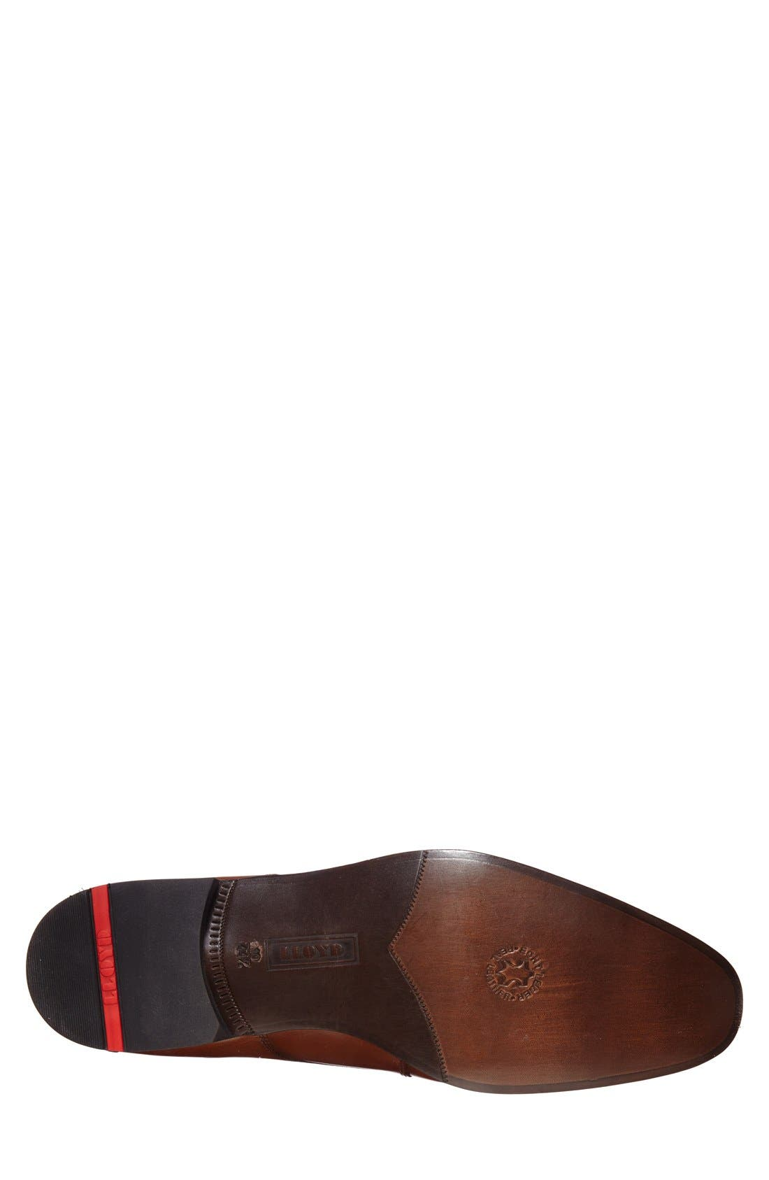 'Laurin' Plain Toe Derby,                             Alternate thumbnail 4, color,                             Light Brown