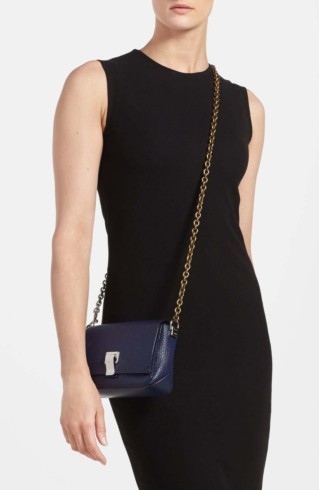 Alternate Image 2  - Proenza Schouler 'Small Courier' Pebbled Leather Crossbody Bag