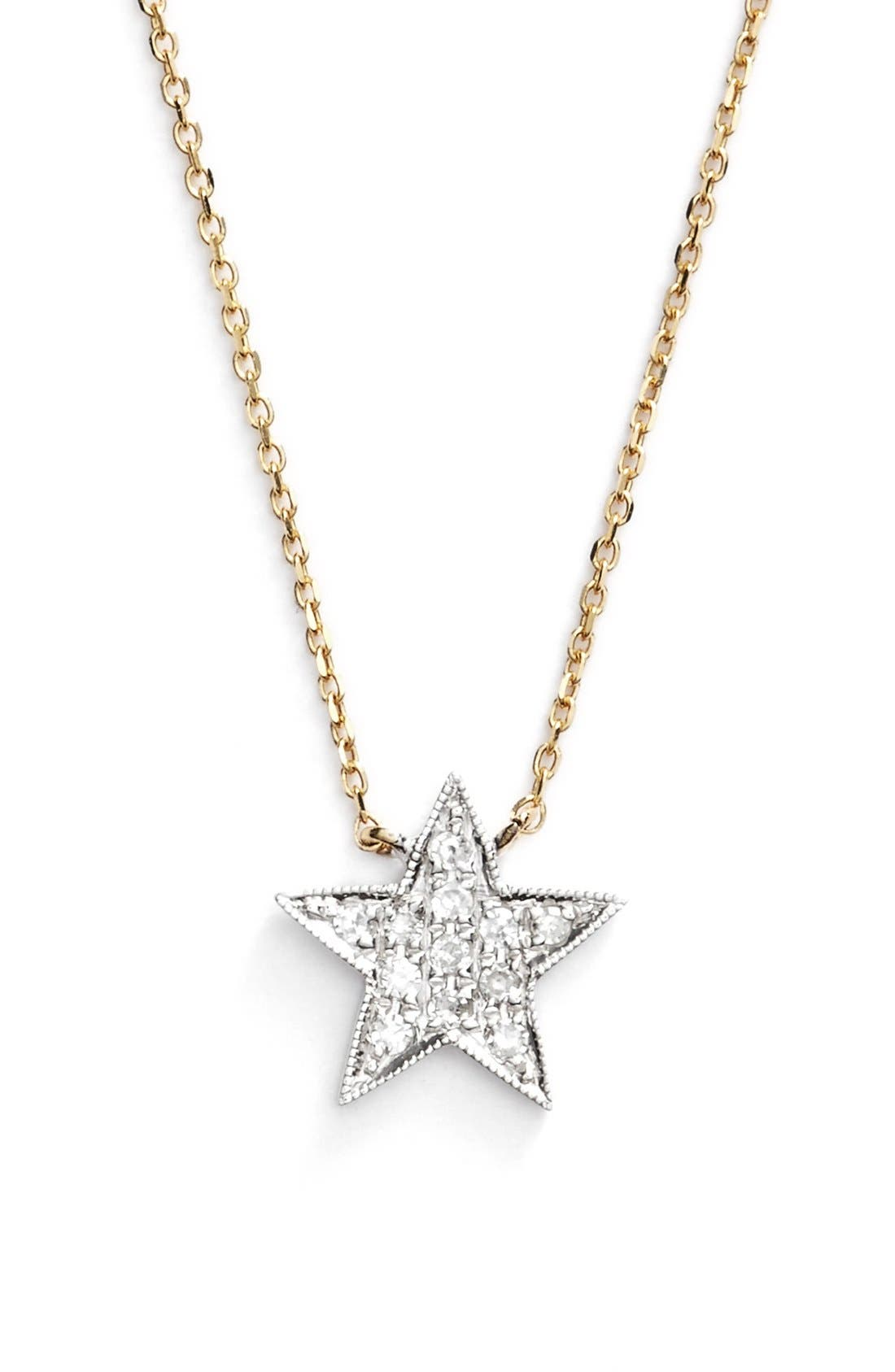 Dana Rebecca Designs 'Julianne Himiko' Diamond Star Pendant Necklace