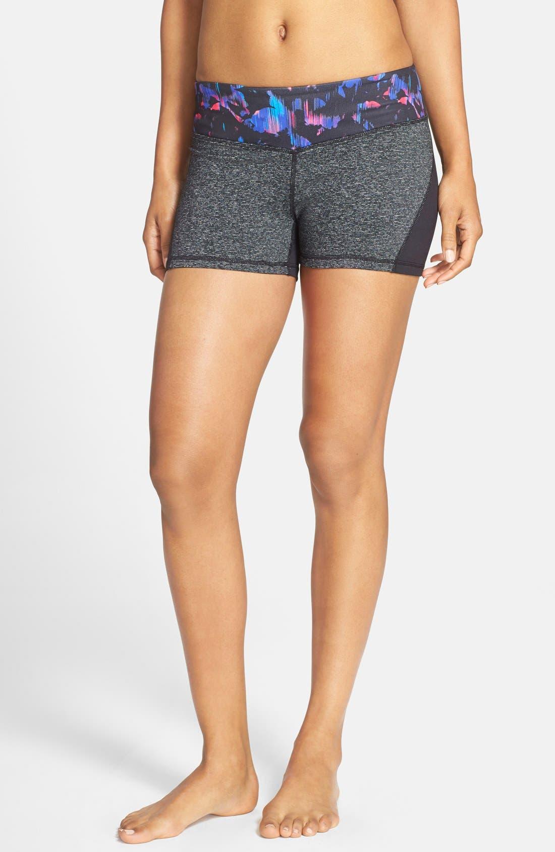 Alternate Image 1 Selected - Zella 'Haute - Fair Game' Slim Fit Shorts