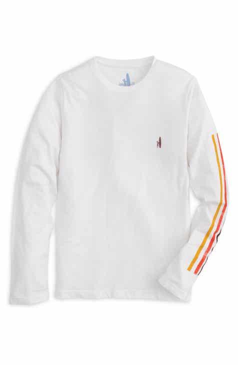 johnnie-O Bays Long Sleeve T-Shirt (Big Boy)