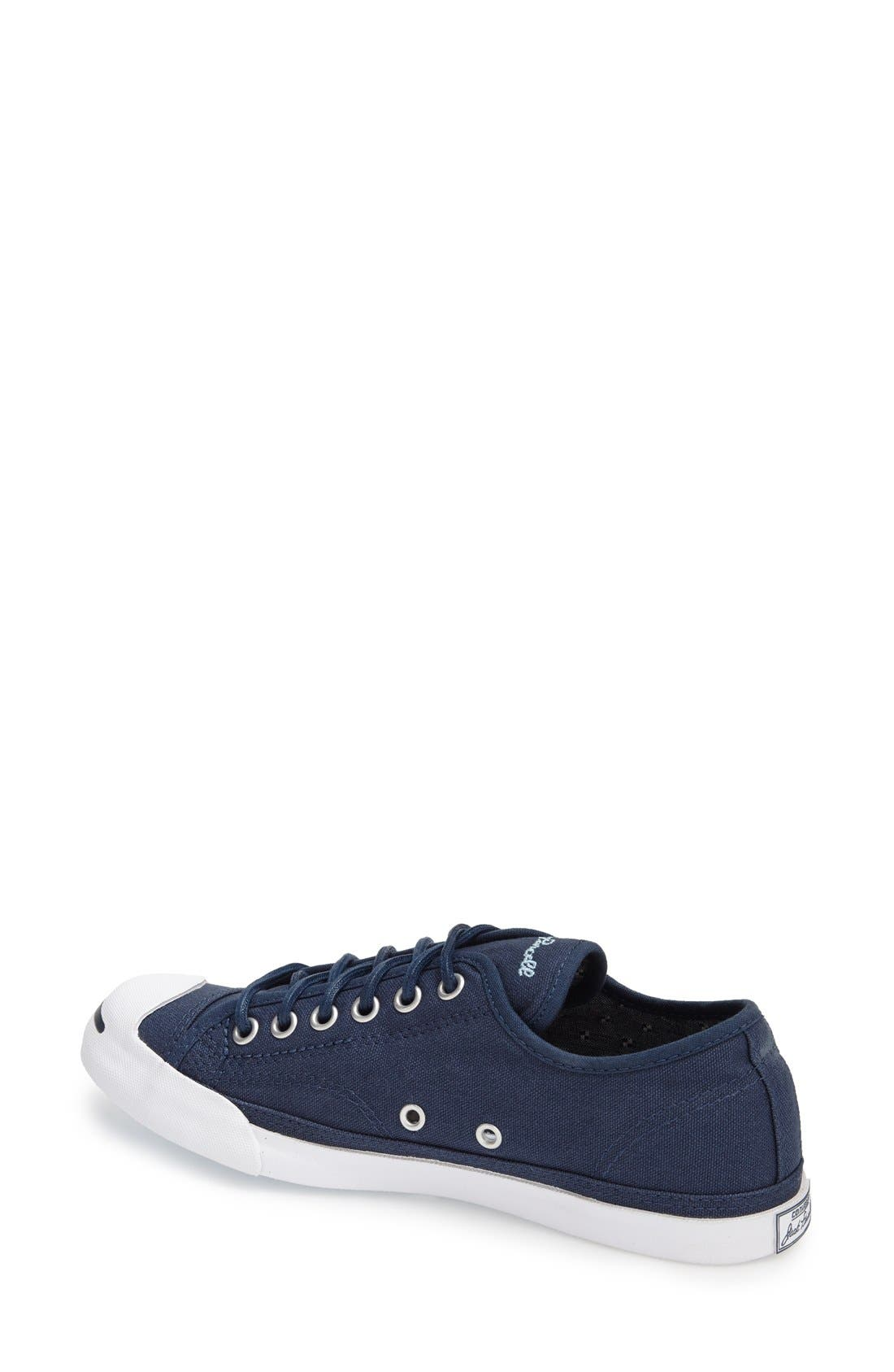 'Jack Purcell' Low Top Slip On Sneaker,                             Alternate thumbnail 2, color,                             Navy/ Blue/ White