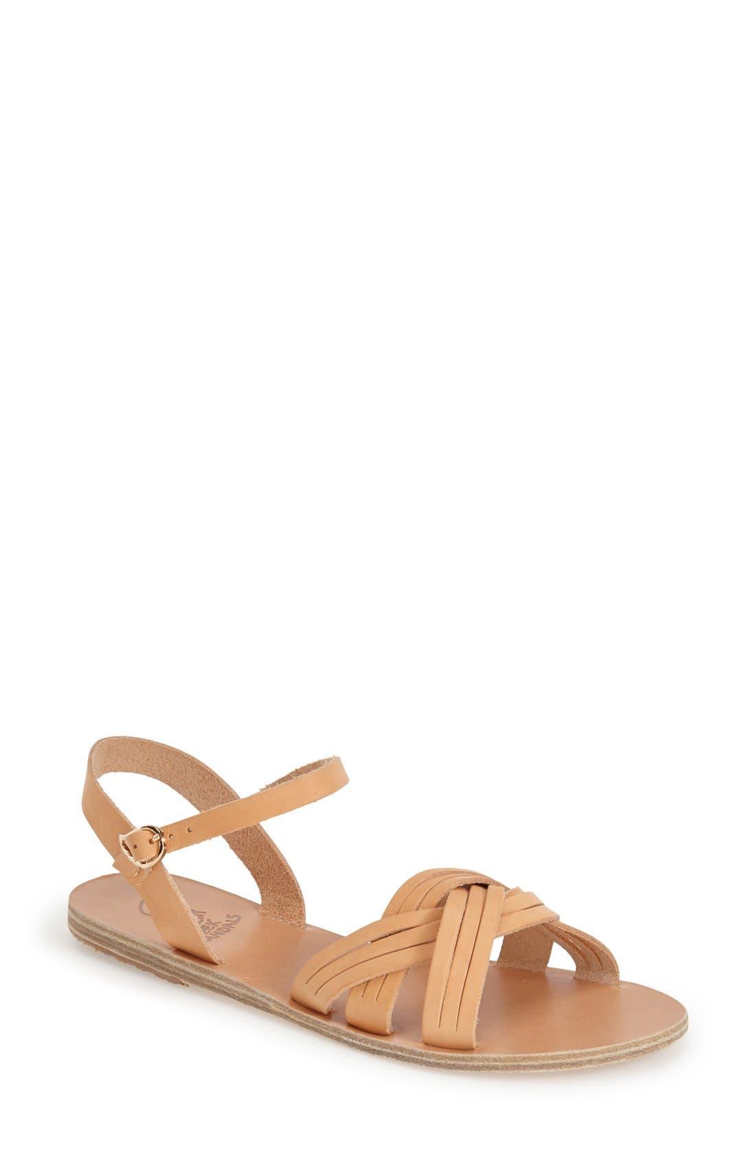 Alternate Image 1 Selected - Ancient Greek Sandals 'Electra' Quarter Strap Sandal (Women)