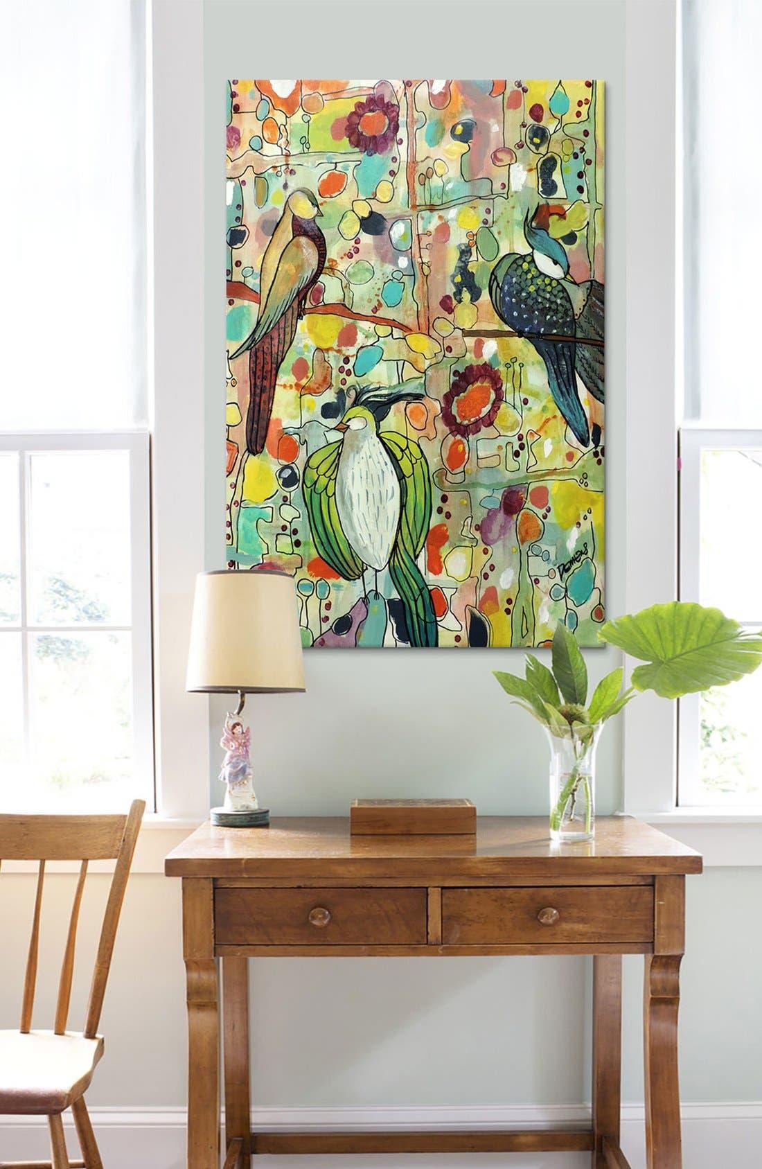 'Assemblée - Sylvie Demers' Giclée Print Canvas Art,                             Alternate thumbnail 2, color,                             Green