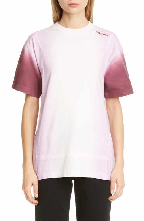 Ambush Tie Dye Paneled T-Shirt On Sale