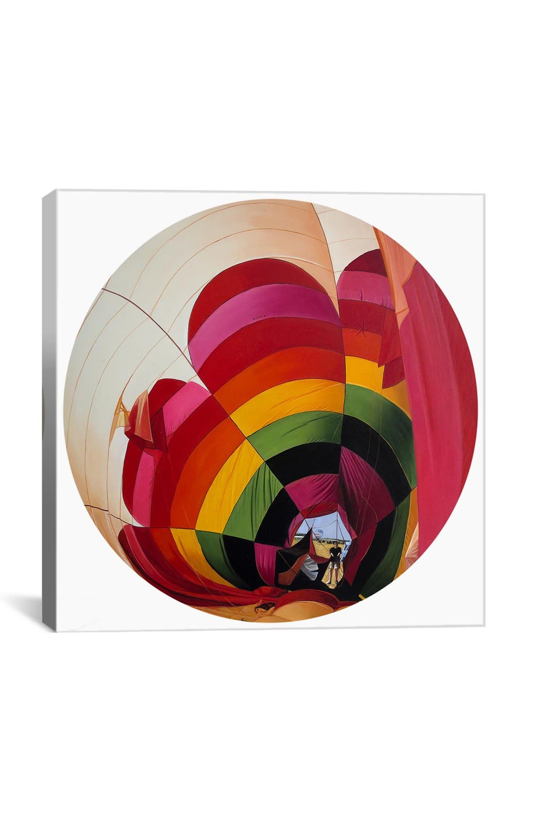 'The Moon Spinners' Giclée Print Canvas Art,                         Main,                         color, White