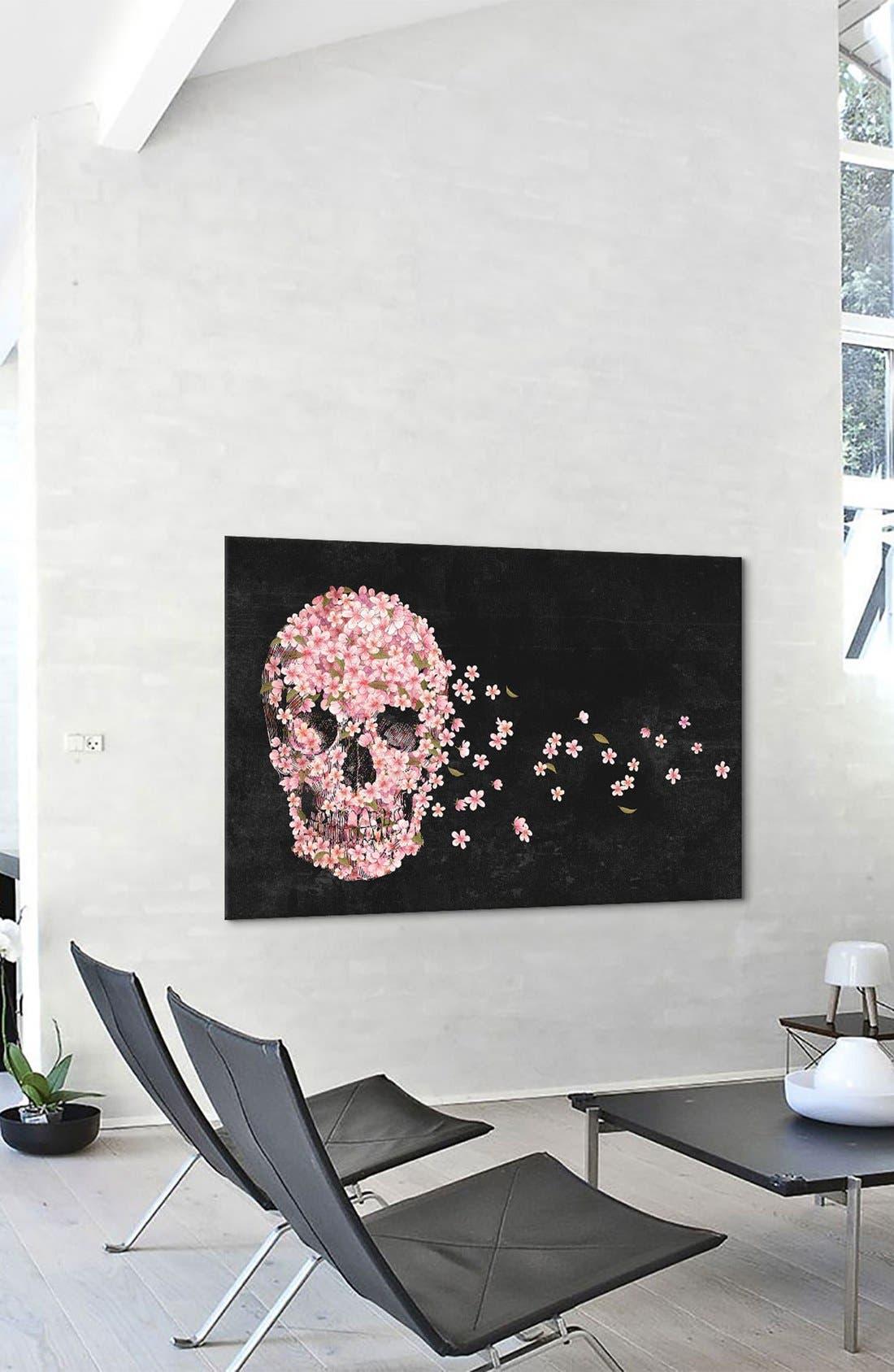 Alternate Image 3  - iCanvas 'Beautiful Death - Terry Fan' Giclée Print Canvas Art