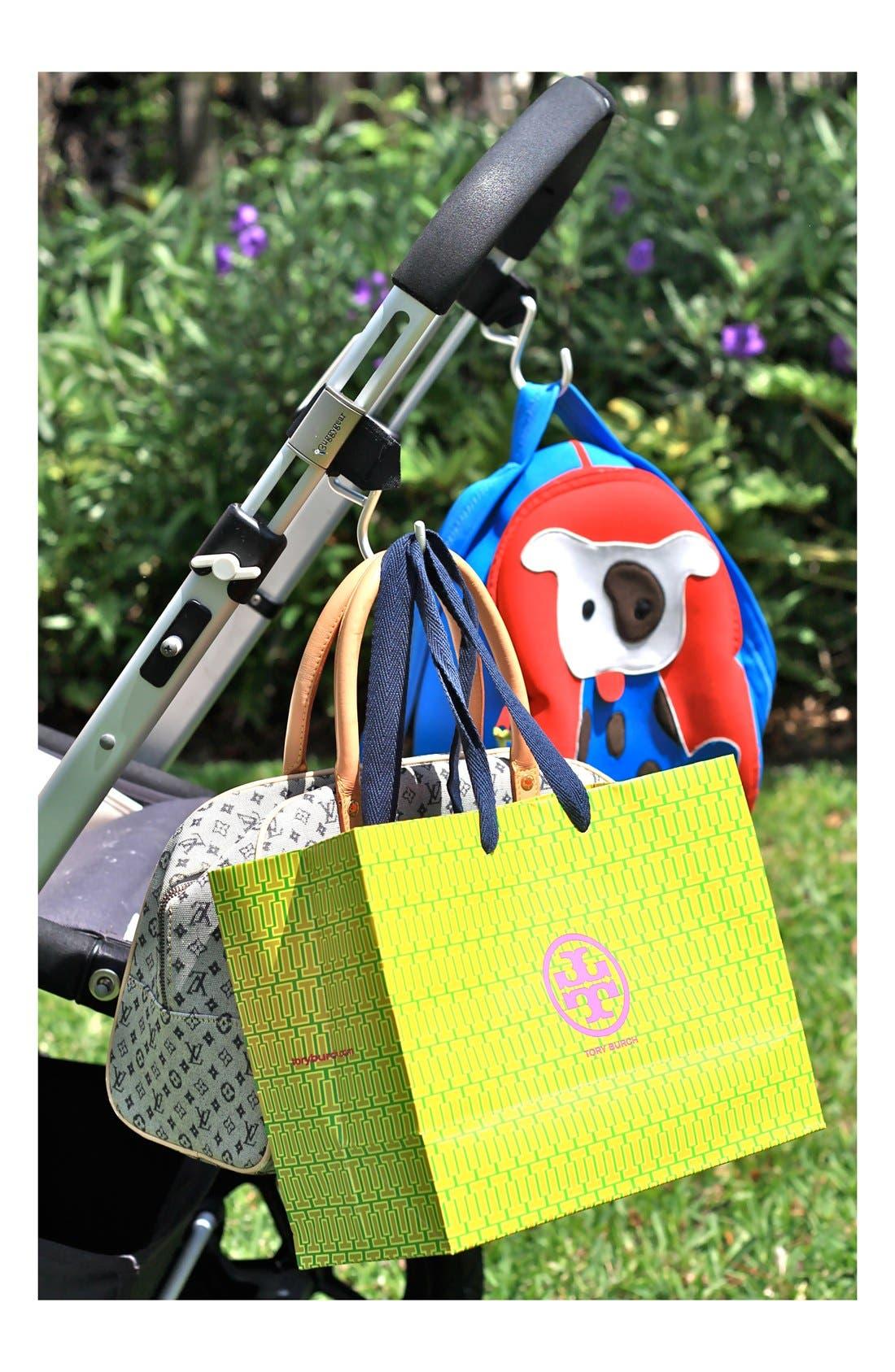 Alternate Image 8  - Buggygear 'Boutique' Stroller Hooks (Set of 2)