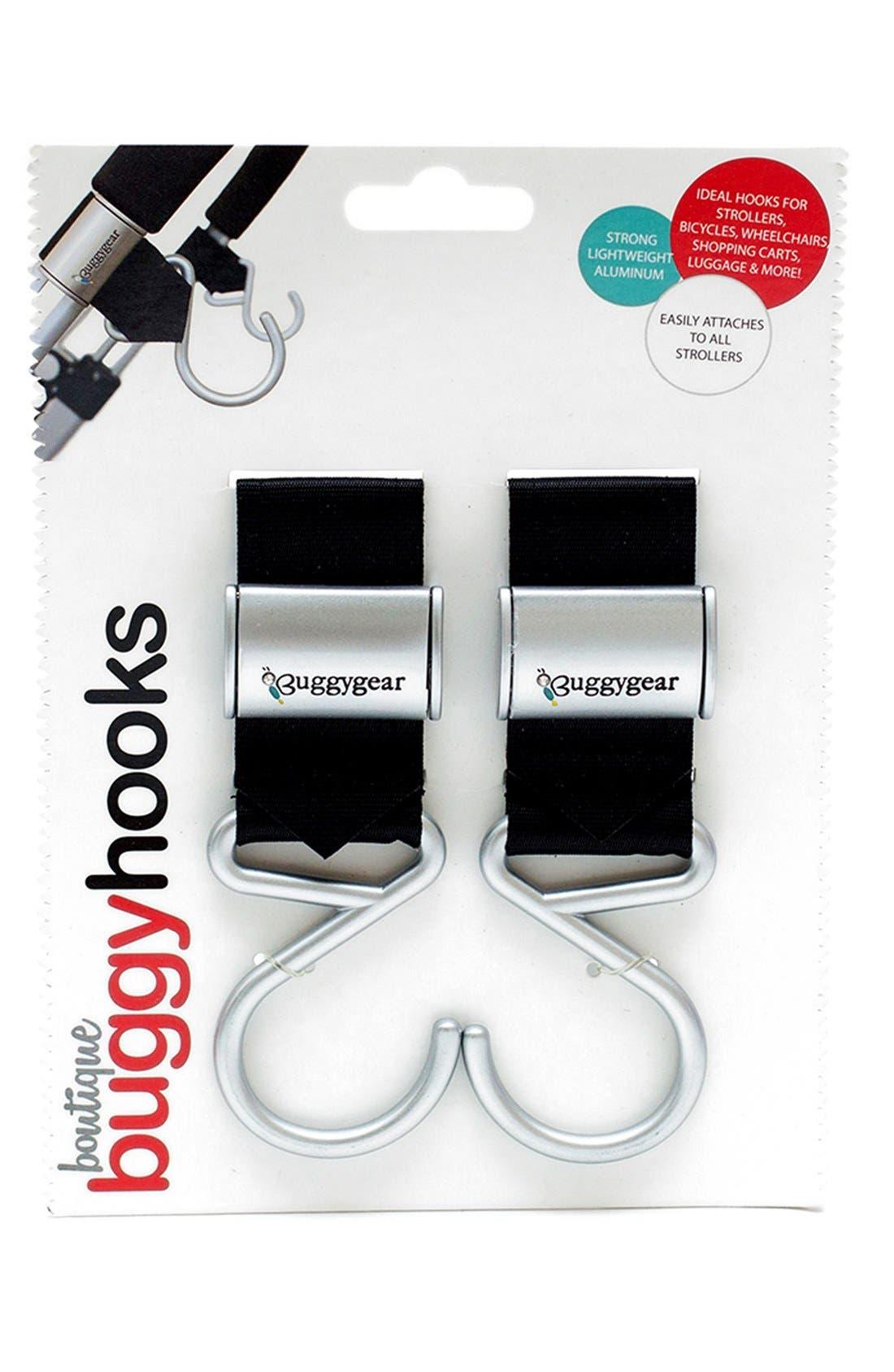 Alternate Image 3  - Buggygear 'Boutique' Stroller Hooks (Set of 2)