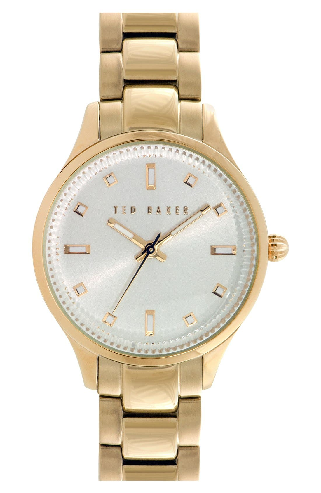 Alternate Image 1 Selected - Ted Baker London 'Dress Sport' Bracelet Watch, 32mm