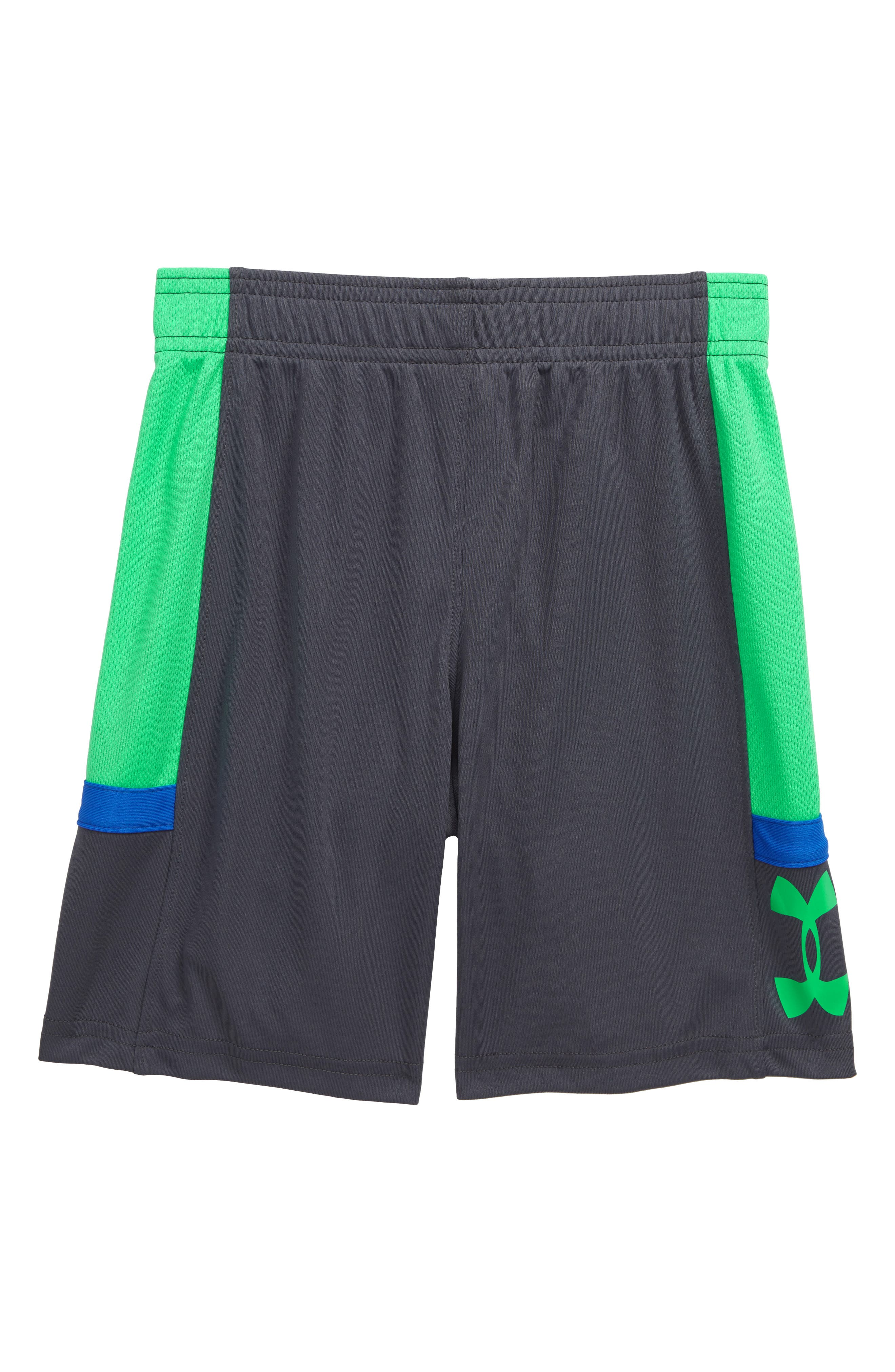 Under Armour Boys/' Zoom Striker Shorts 3 Colors