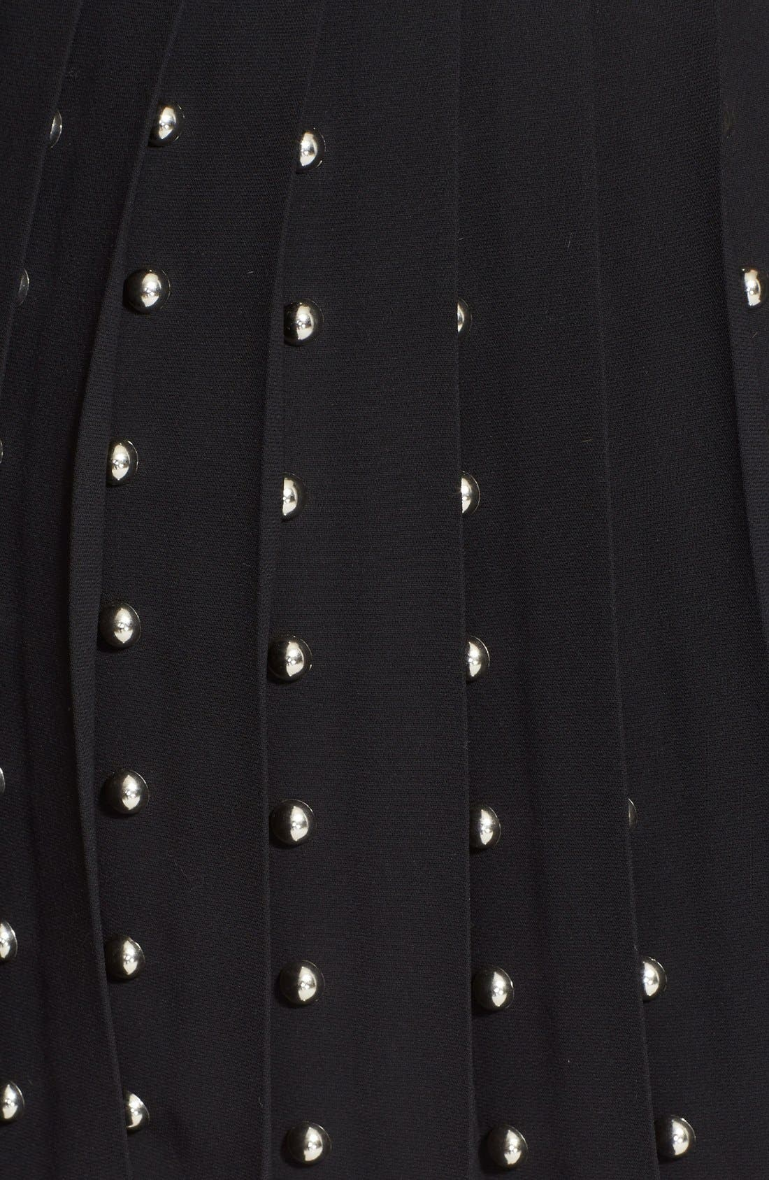 Alternate Image 4  - McQ by Alexander McQueen Studded Pleated Fit & Flare Dress