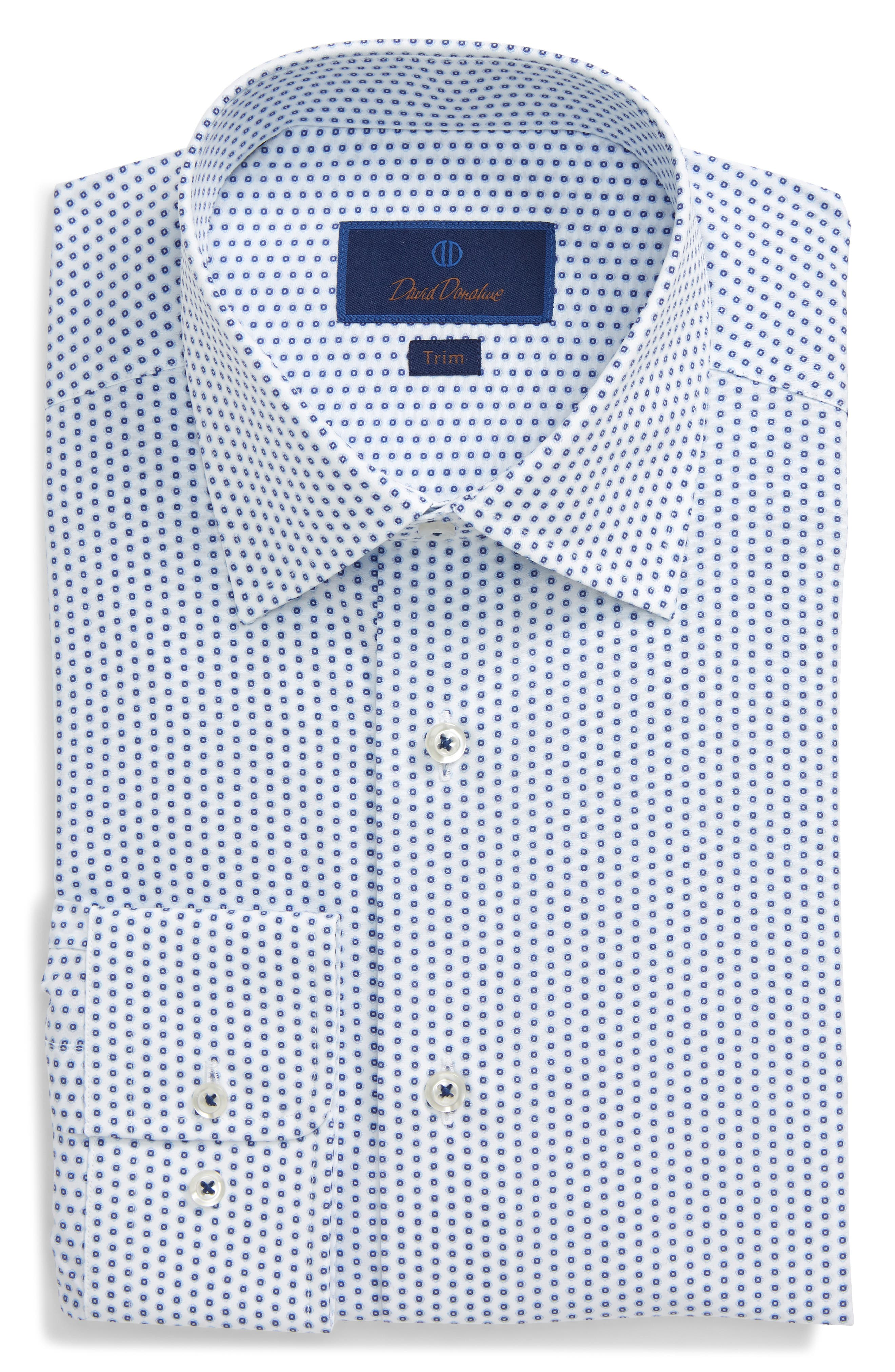 "NEW Mens white formal shirt weddings//evening with 17/"" tall standard collar"