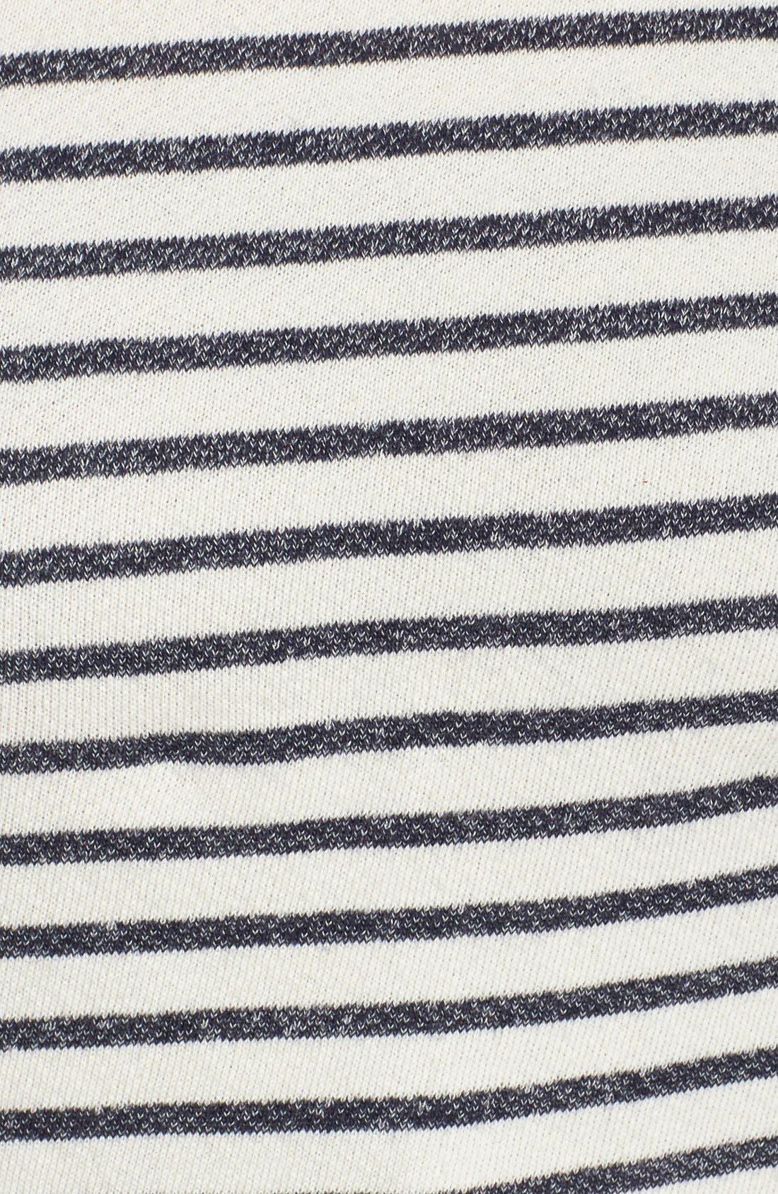 Alternate Image 3  - Hard Tail Stripe Crop Sweatshirt