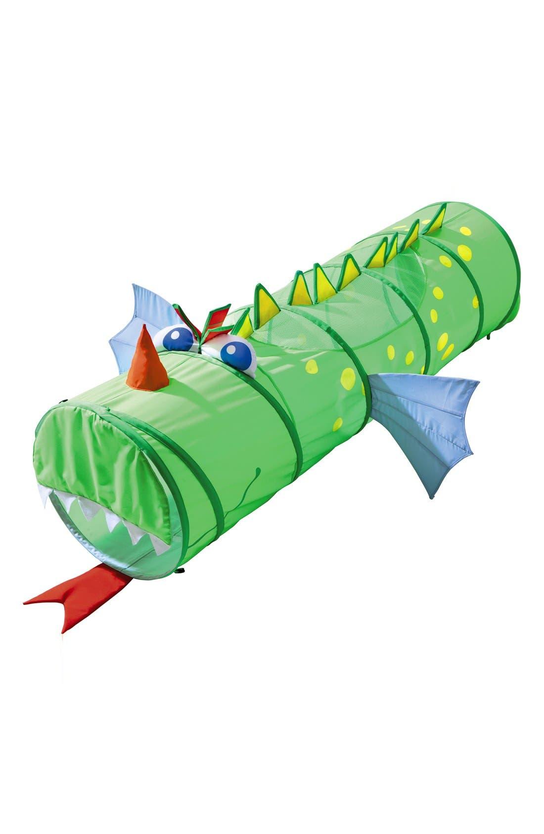 'Croco Kuno' Dragon Crawling Tunnel,                         Main,                         color, Green