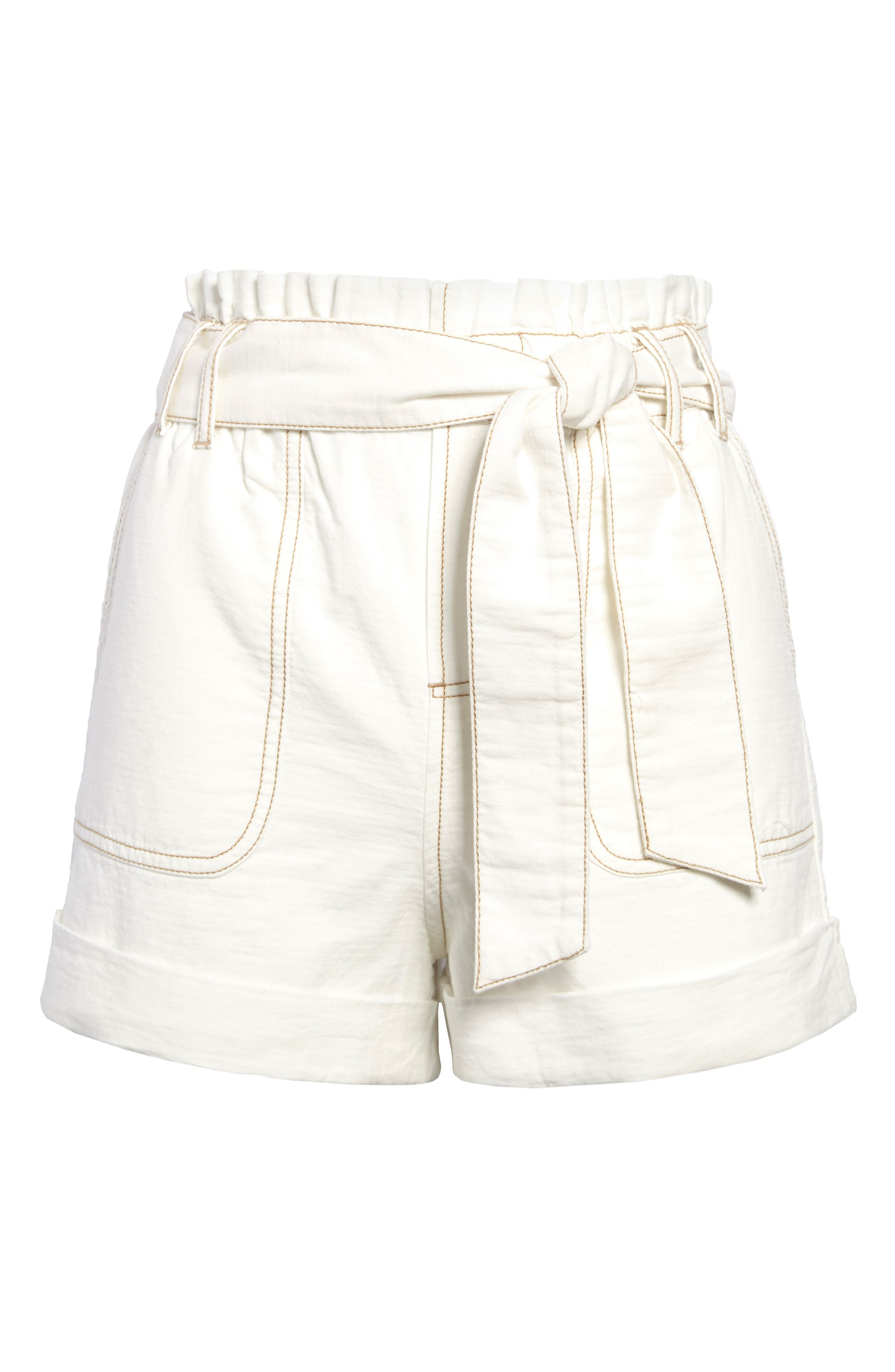 Girls Womens 12-22 Knee Length Turn Up Shorts Pink Candy Ladies
