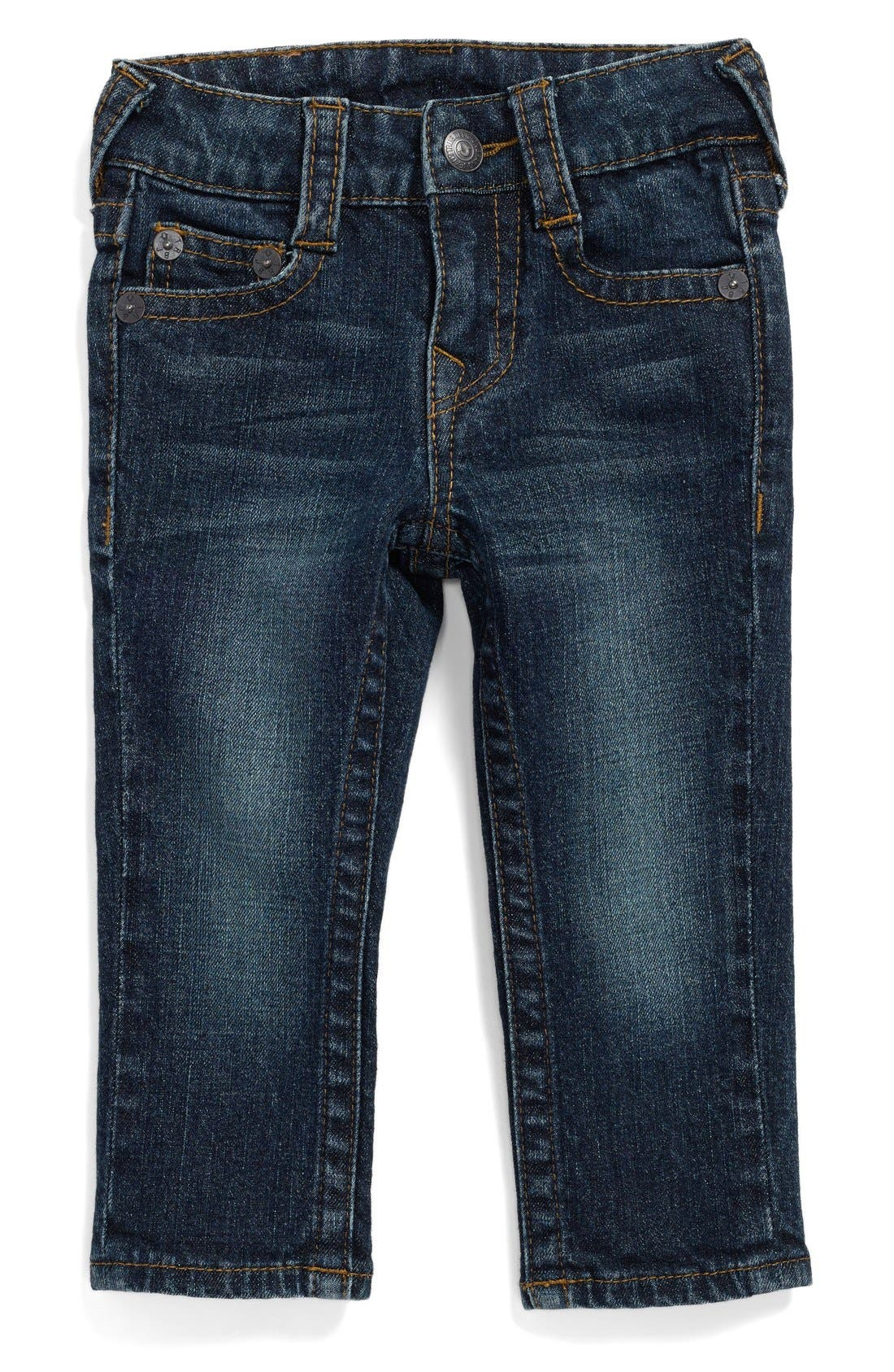 Alternate Image 1 Selected - True Religion Brand Jeans 'Geno' Relaxed Slim Fit Classic Jeans (Baby Boys) (Online Exclusive)