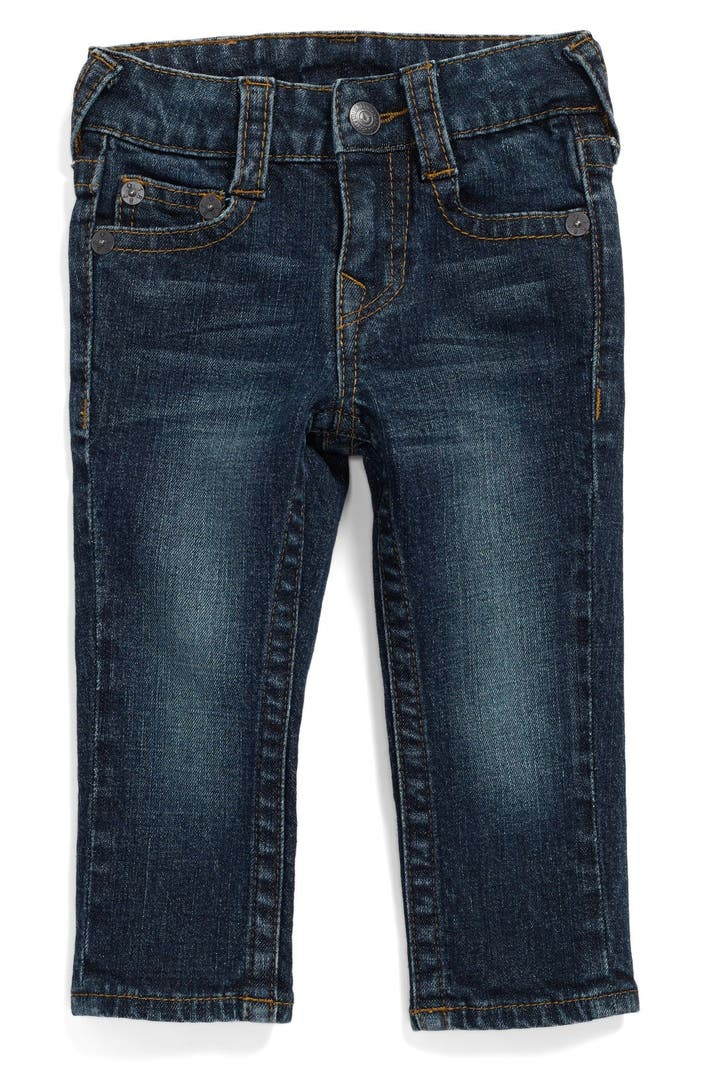 true religion brand jeans 39 geno 39 relaxed slim fit classic. Black Bedroom Furniture Sets. Home Design Ideas