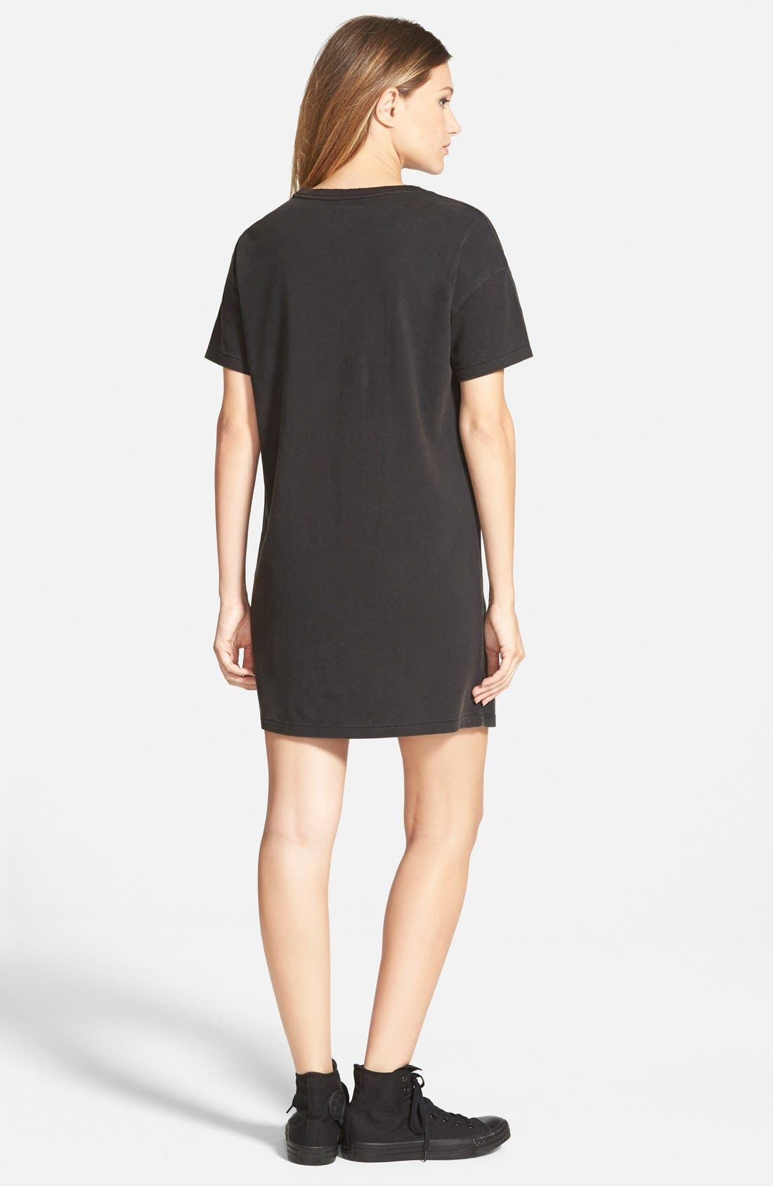 Alternate Image 2  - Converse Graphic T-Shirt Dress