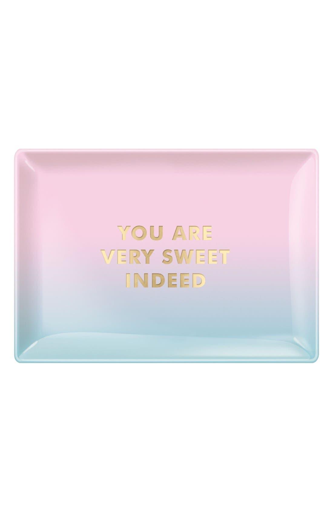 Main Image - Fringe Studio 'Sweet' Glass Trinket Tray