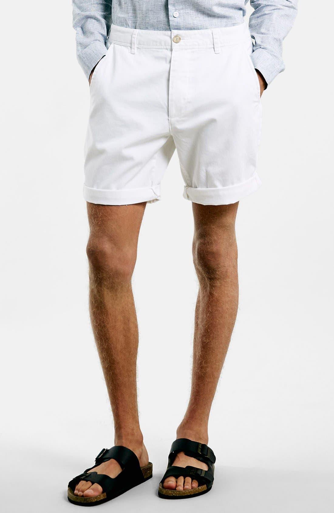 Alternate Image 6  - Topman Chino Shorts