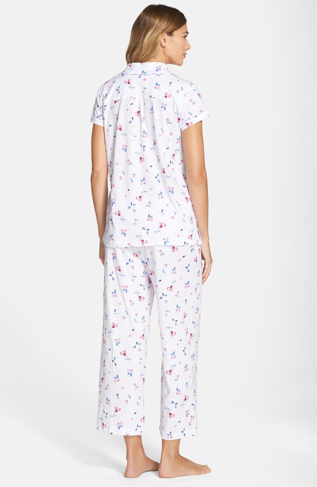 Alternate Image 2  - Carole Hochman Designs 'Embellished Foulard' Pajamas