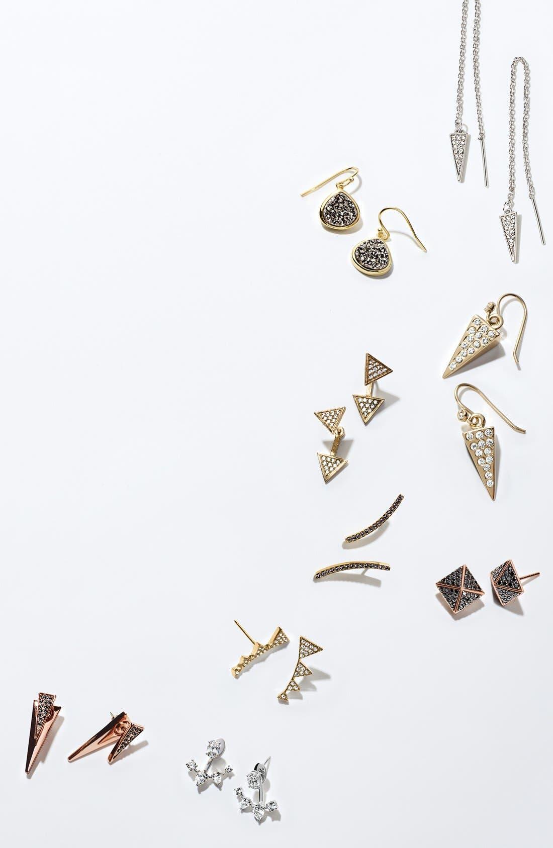 Alternate Image 3  - Melinda Maria 'Pyramid' Drop Earrings