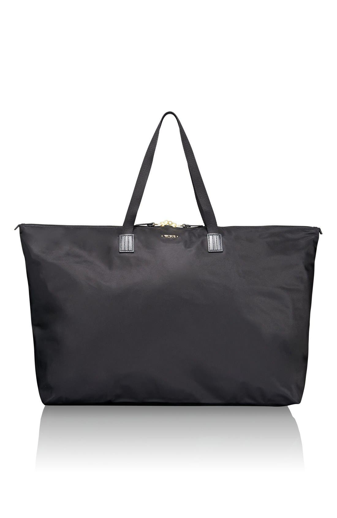 Just in Case Nylon Travel Tote,                         Main,                         color, Black