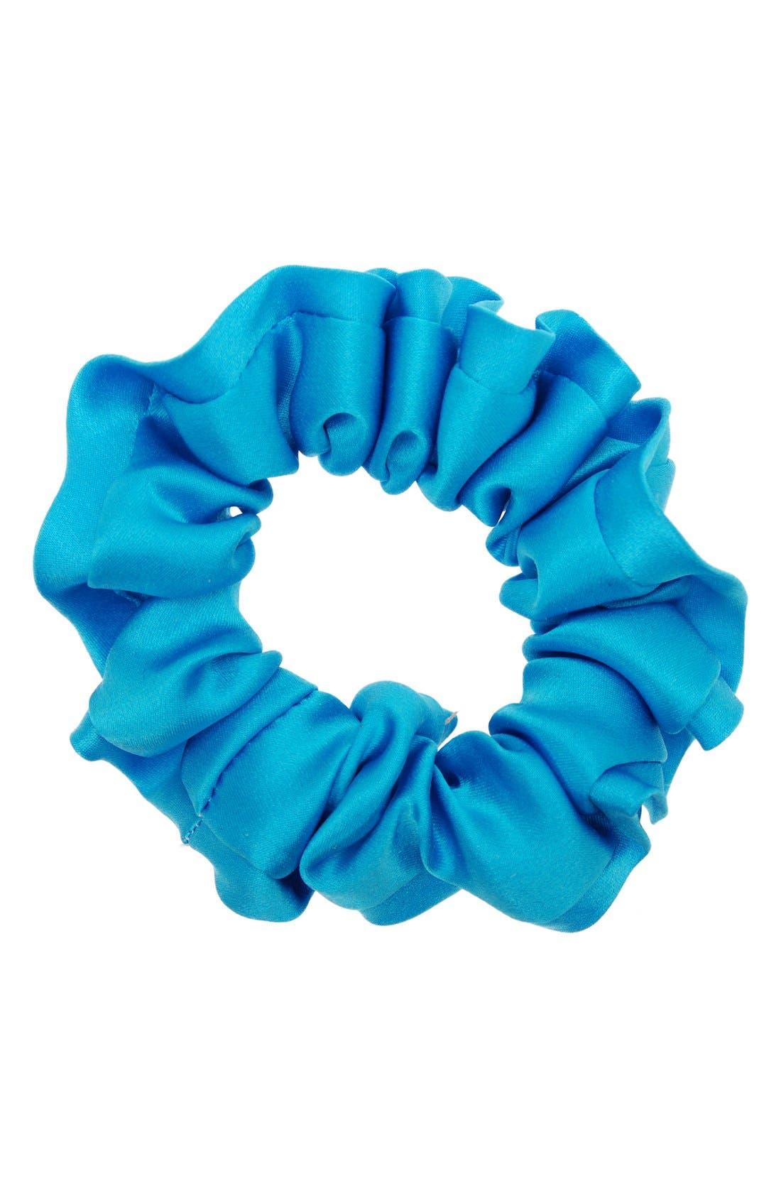 Silk Scrunchie,                         Main,                         color, Fiji