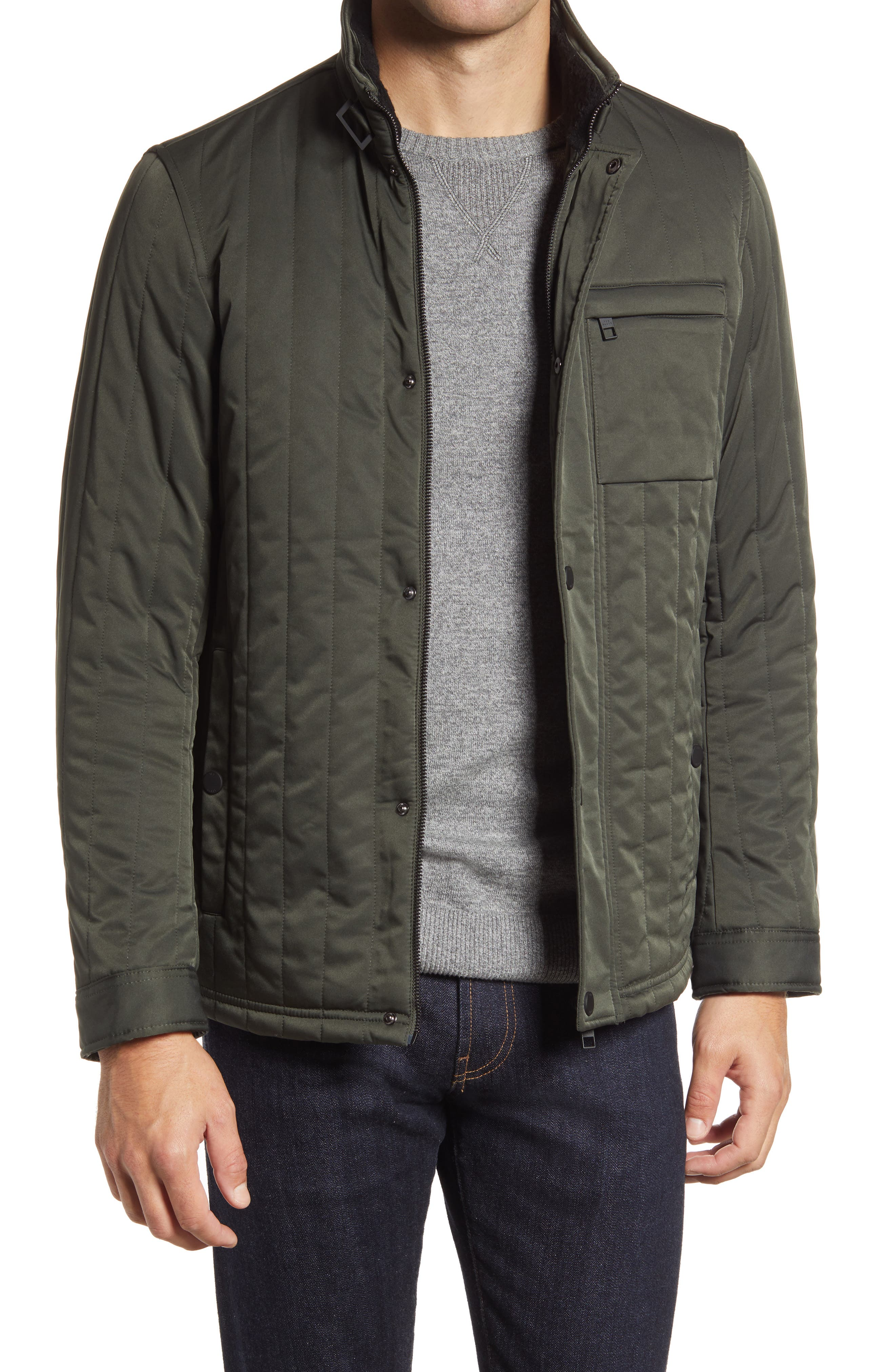 Dissident Mens /'Neutron/' Quilted Hooded Jacket