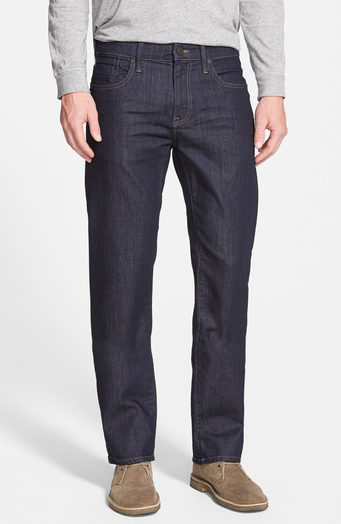 Alternate Image 1 Selected - Mavi Jeans Zach Straight Leg Jeans (Rinse Williamsburg) (Regular & Tall)
