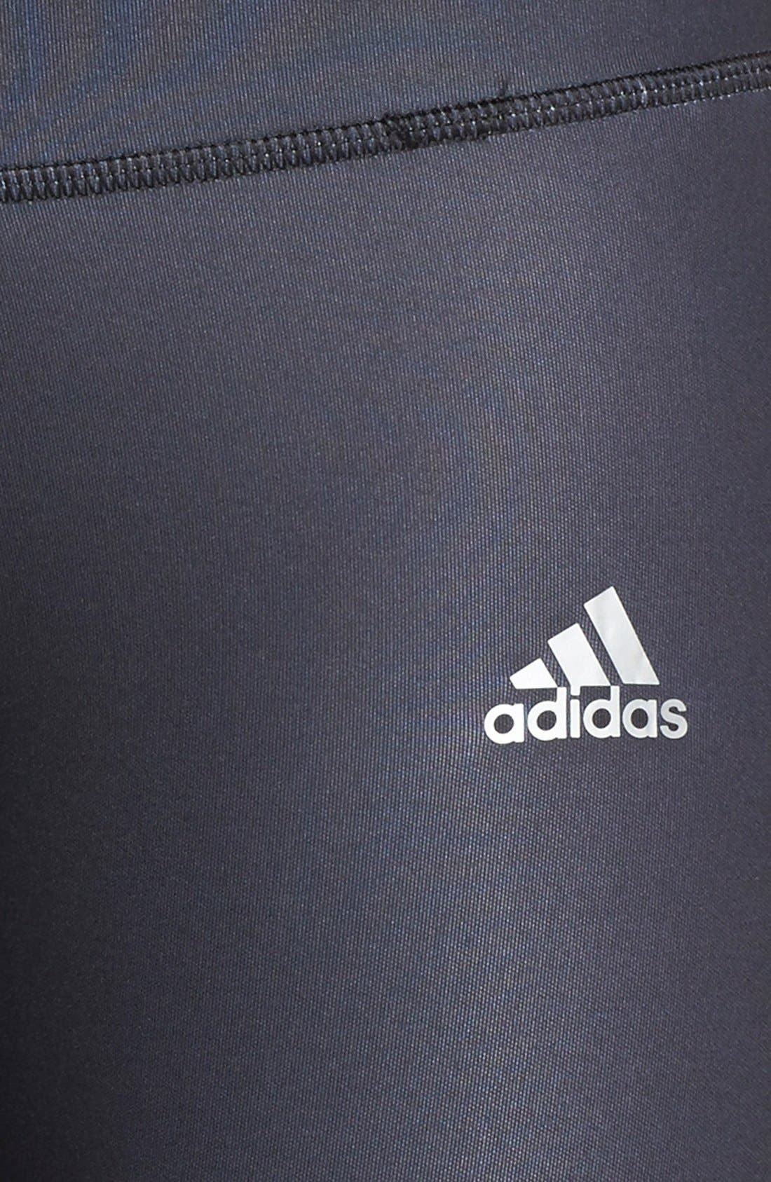 Alternate Image 3  - adidas 'Performer' Mid-Rise Three Quarter Tights