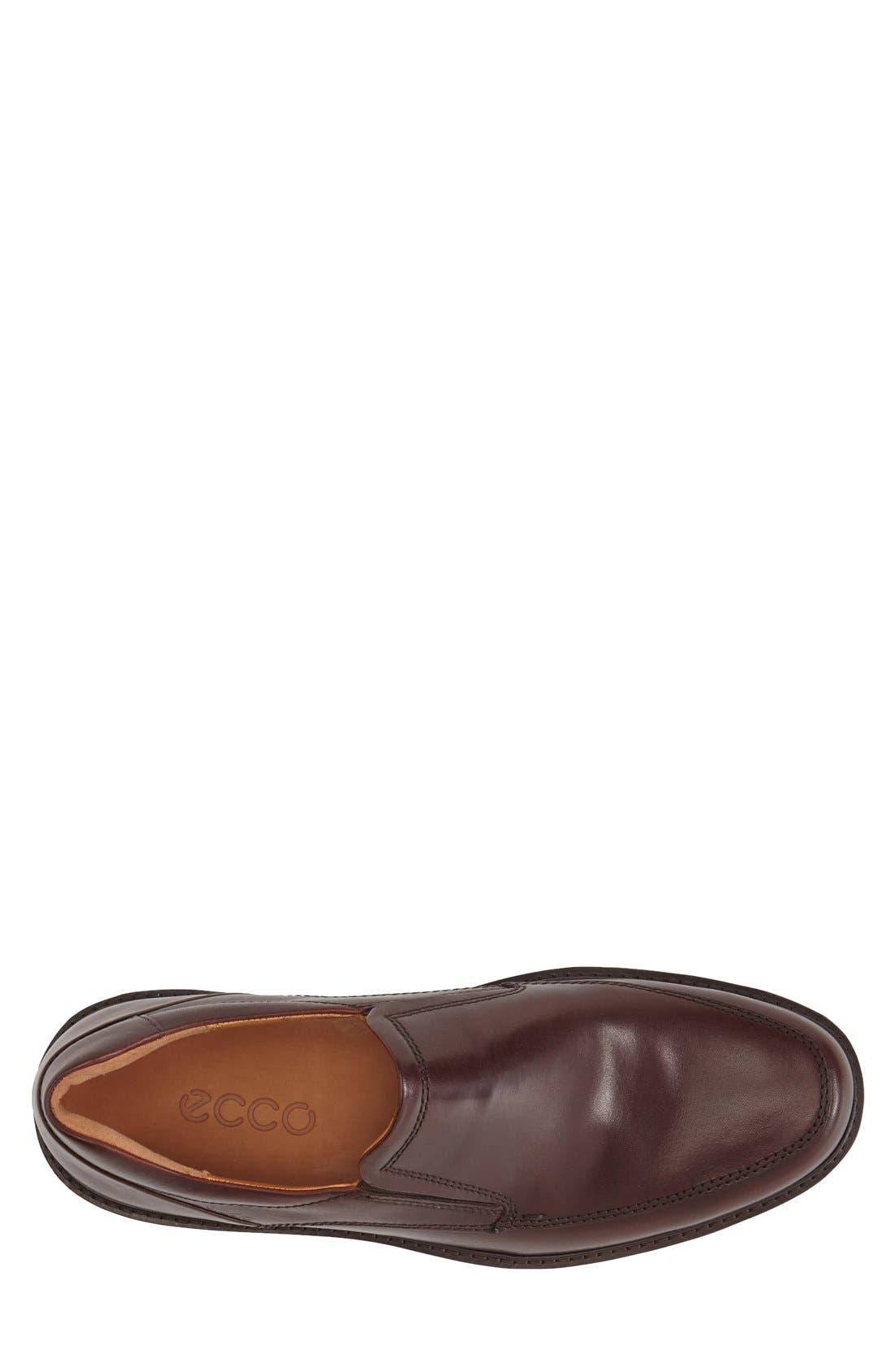 Holton Slip-On,                             Alternate thumbnail 3, color,                             Rust Leather