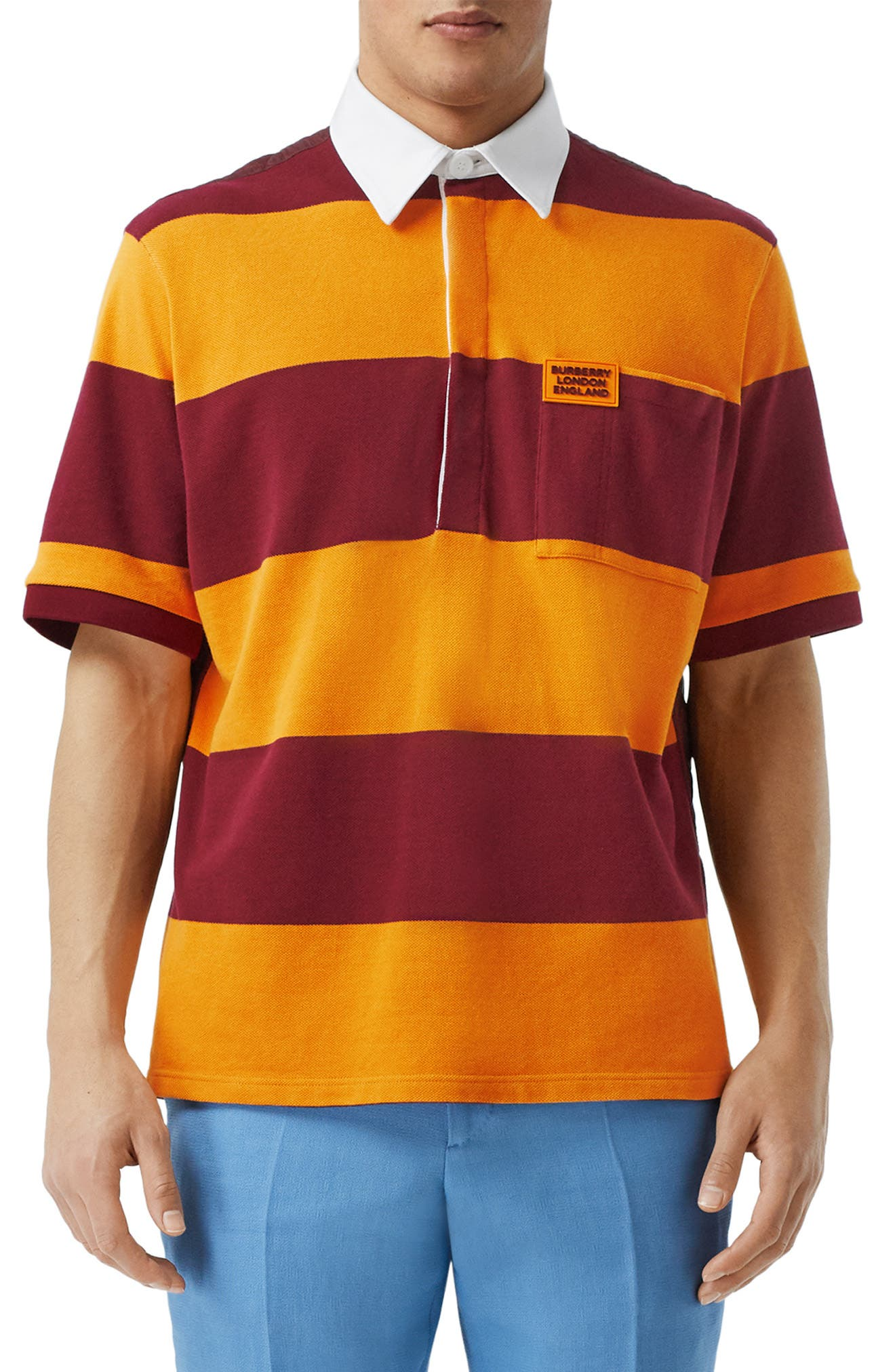 Men's Burberry Polo Shirts | Nordstrom