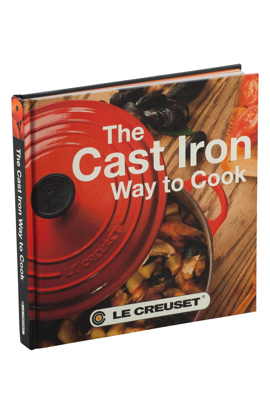 'The Cast Iron Way To Cook' Cookbook,                         Main,                         color, White