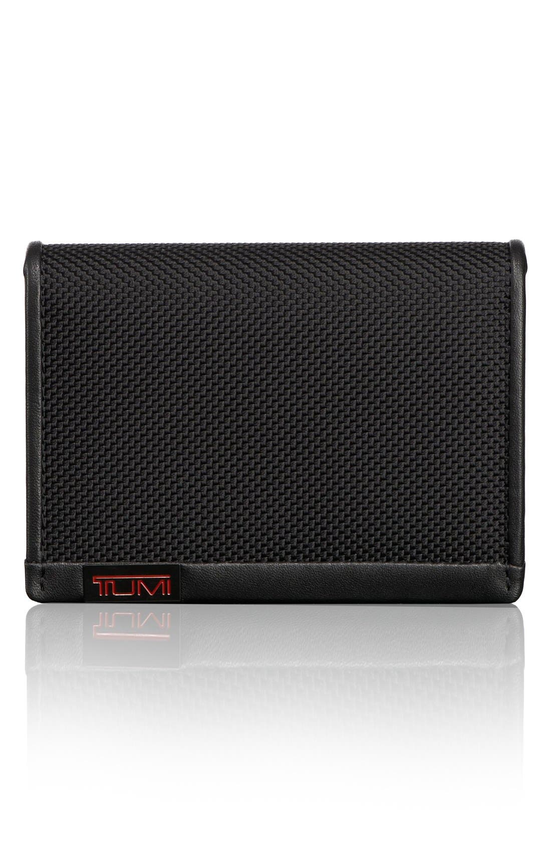 Tumi 'Alpha - ID Lock™' Shielded Gusseted Card & ID Case