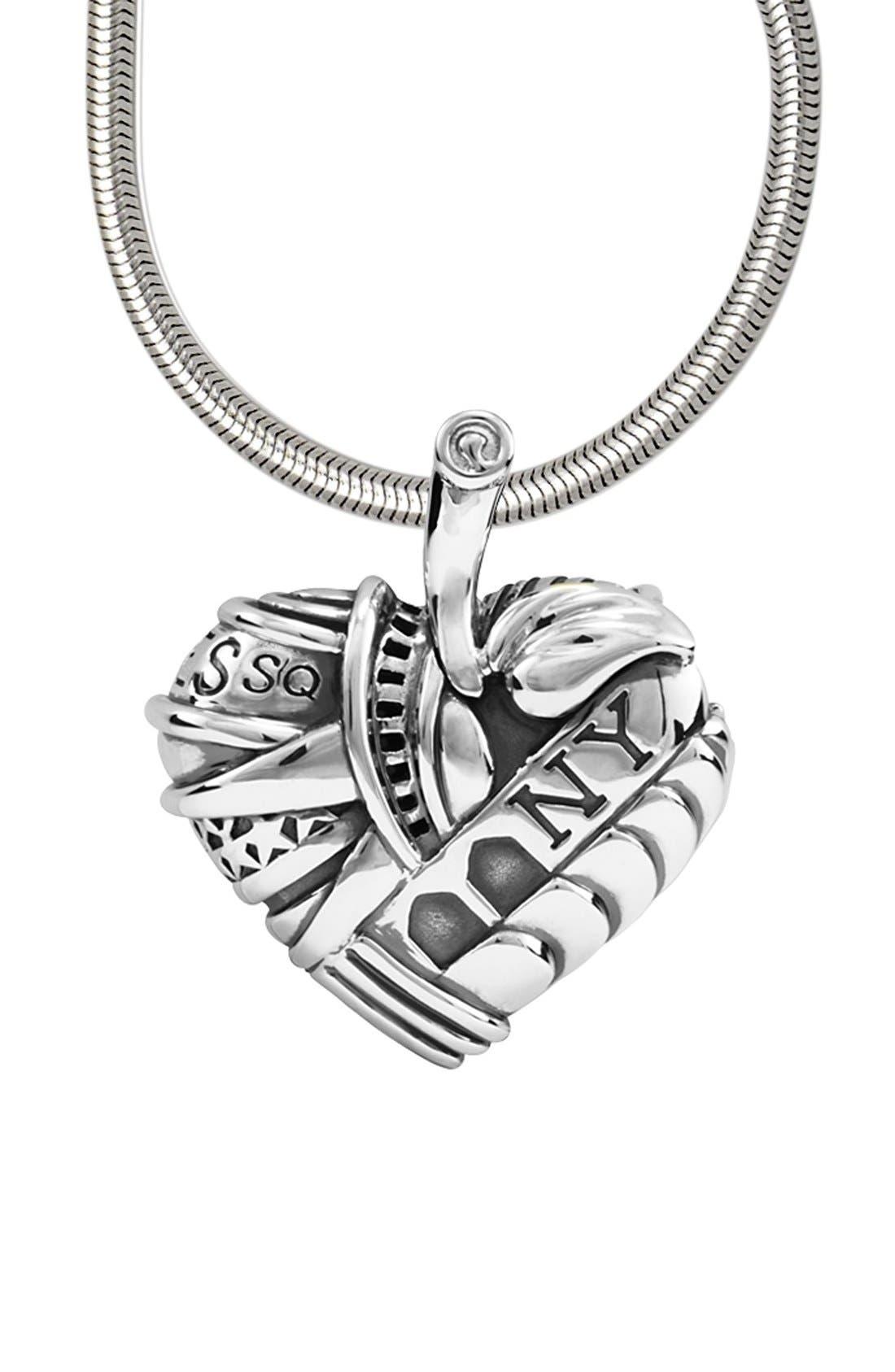 Alternate Image 2  - LAGOS 'Hearts of LAGOS - New York' Long Pendant Necklace