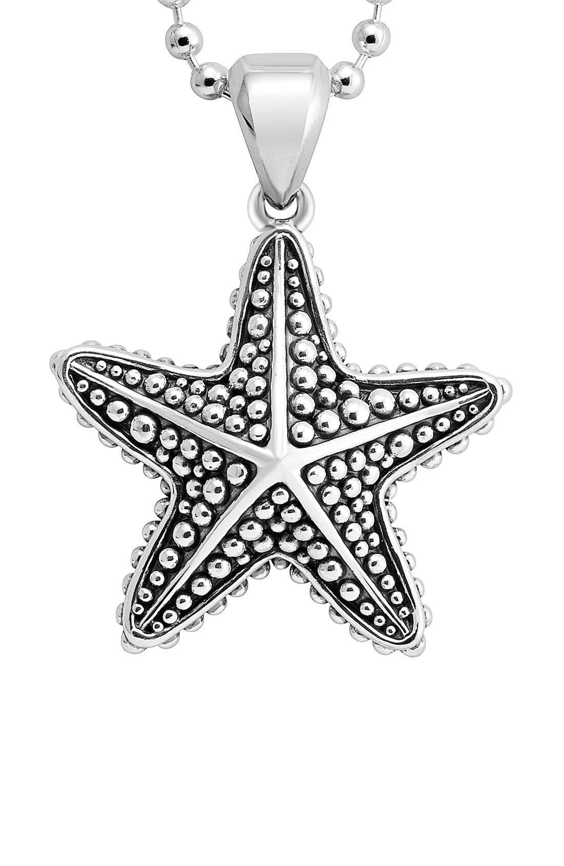 Alternate Image 2  - LAGOS 'Rare Wonders - Starfish' Long Talisman Necklace
