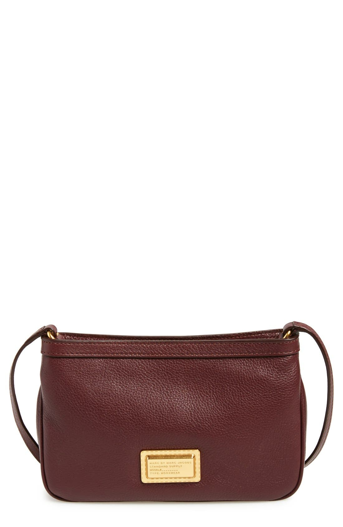 MARC BY MARC JACOBS 'Take Your Marc - Percy' Crossbody Bag,                             Main thumbnail 1, color,                             Cardamom
