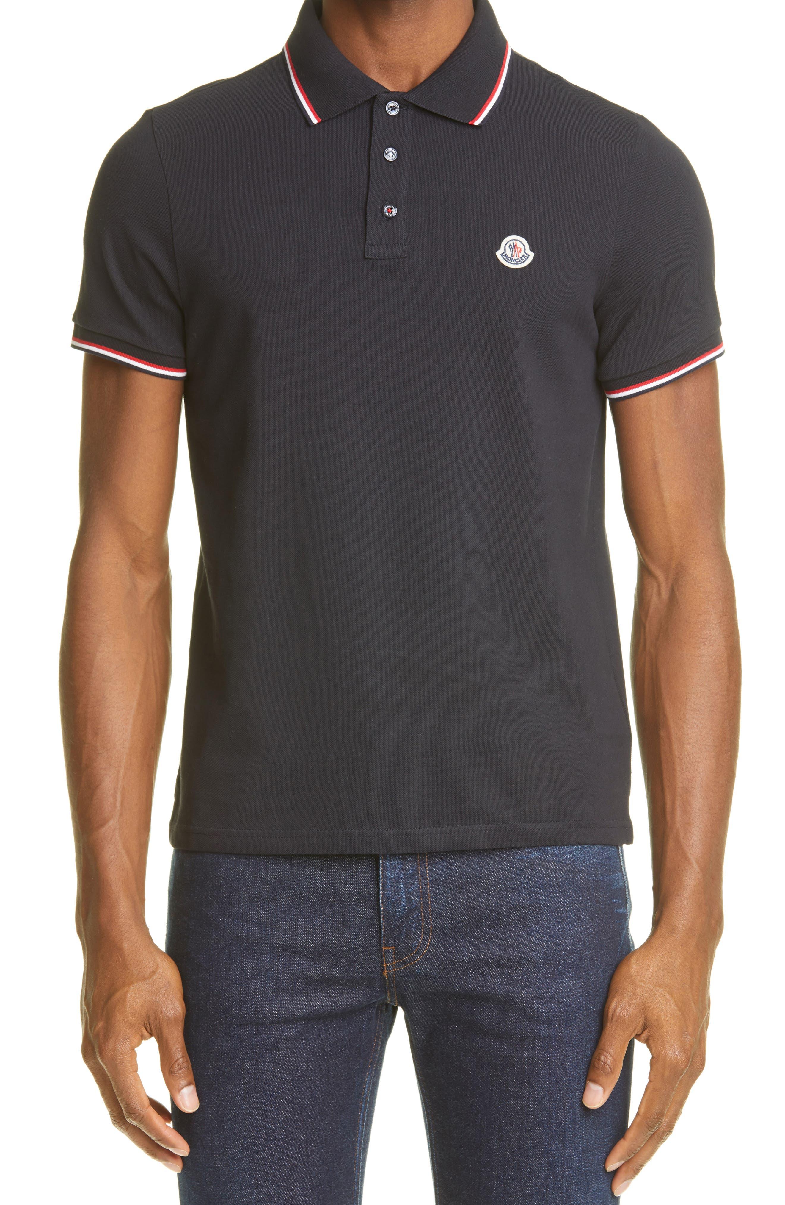 Men's Moncler Polo Shirts   Nordstrom