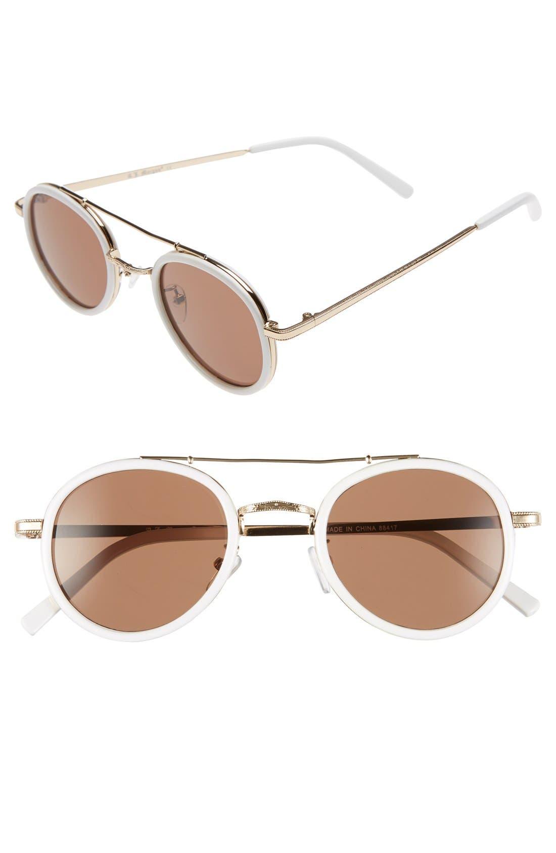 Alternate Image 1 Selected - A.J. Morgan 'Cocktail' 47mm Sunglasses