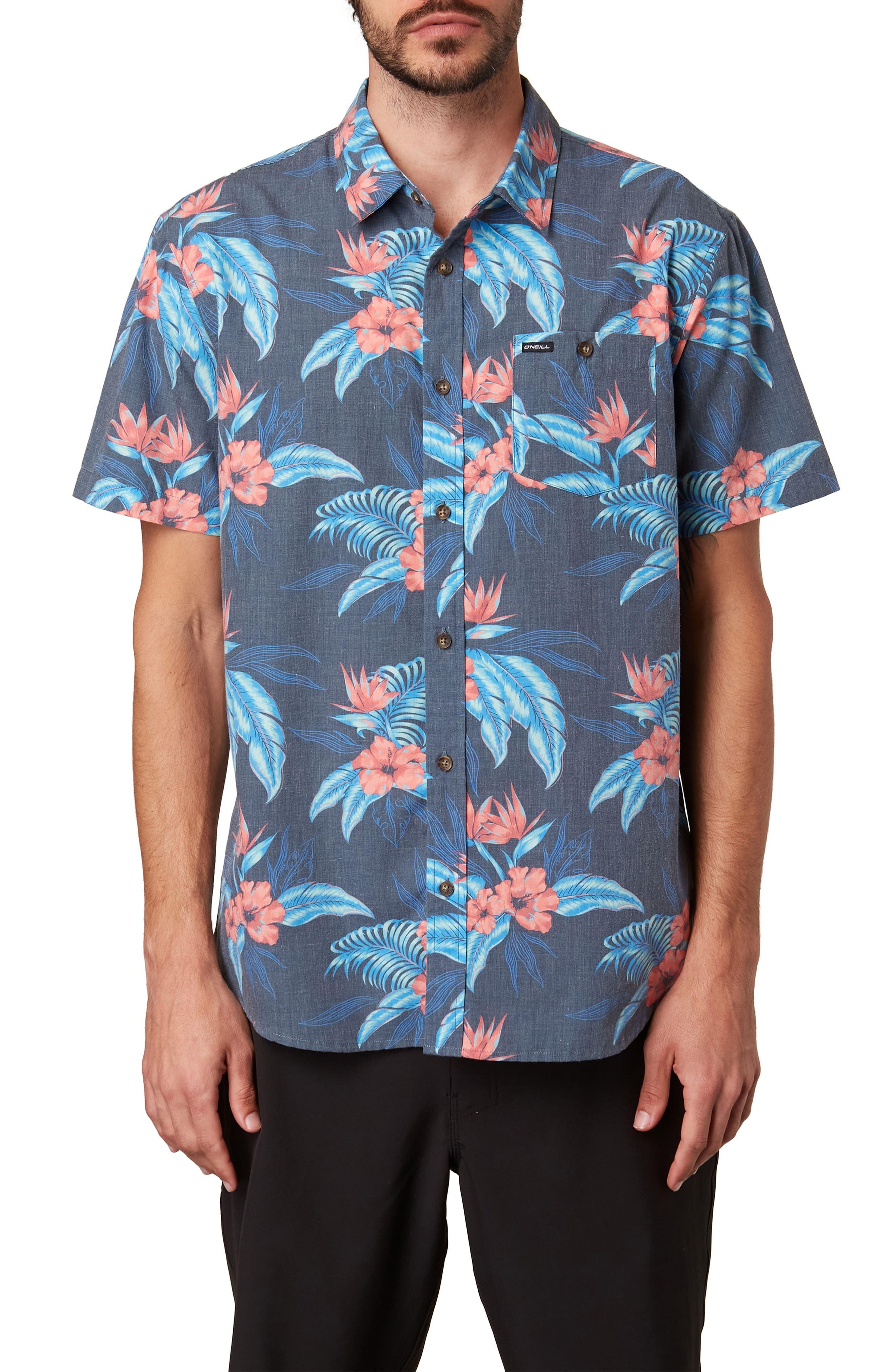 Men's Hawaiian Shirts   Nordstrom